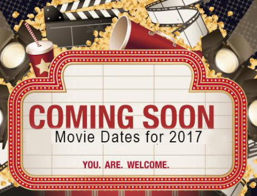 Movie Dates for 2017